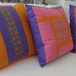 Hand Embroidered Huichol Indian Pillows