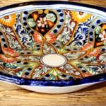 """Talavera"" ceramic bowl"