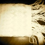 Handwoven and embroidered shawl from Chiapas